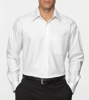 Plain White Dress Shirt